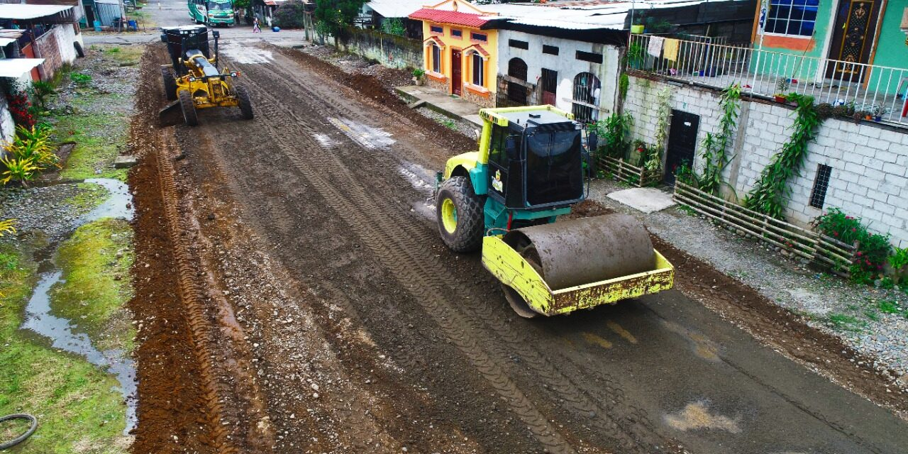 SECTOR RURAL 'EL VERGEL' SE BENEFICIA CON OBRA MUNICIPAL